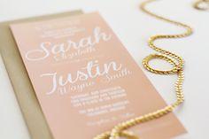 Sarah + Justin Wedding Invitation Suite   JayAdores