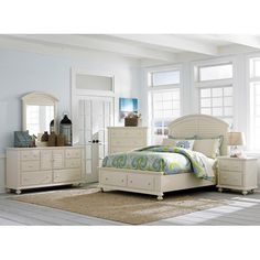 Broyhill Furniture Seabrooke Queen Bedroom Group - Baer's Furniture - Bedroom Group Miami, Ft. Lauderdale, Orlando, Sarasota, Naples, Ft. Myers, Florida