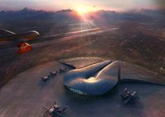 Foster & Partners' Futuristic New Mexico Spaceport