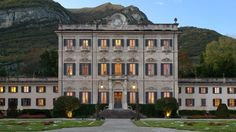 This historic Lake Como landmark was the beloved summer residence of the Serbelloni Dukes. The Villa will be used to host elaborate weddings, romantic dining experiences, and exclusive events. Italian Garden, Italian Villa, Italian Home, Italian Mansion, Beautiful Buildings, Beautiful Places, Lake Como Villas, Two Worlds, Italian Wedding Venues