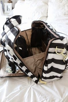 My nickname as a child was Bag Lady! I always wanted to carry a purse and that has not changed. However I am now a mom of two both under the age of two!I need a big diaper bag that will function for two kids and a Diper Bags, Best Diaper Bag, Baby Girl Fashion, Baby Accessories, Baby Gear, School Bags, Baby Items, Baby Car Seats, Purses And Bags