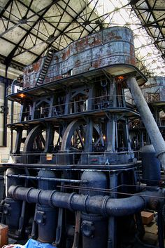 Col. Francis G. Ward Pumping Station, Holly MFG. Co. Triple Expansion Steam engines, Buffalo NY by Pete Swiatowy.