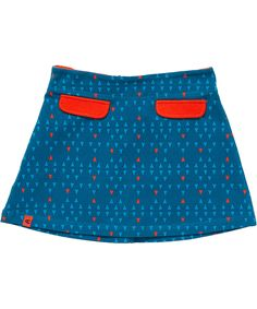 Albababy cool blue skirt with triangle print. albababy.en.emilea.be