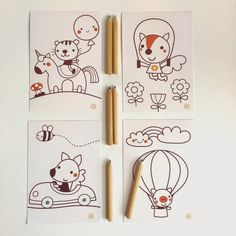 Did you already seen my new wrapping papers? These cards matches with the color me giftwrap,...