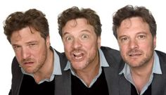 Colin Firth, being a goofball. Not Mamma Mia Level goofball, thank god.
