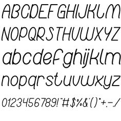 RED LIGHT SPECIAL FONT