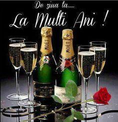 Fotografia postată de Anisoara Negoias. 50th Birthday Quotes, 21st Birthday Cards, Champagne Taste, Champagne Bottles, Moet Chandon, Happy Birthday Woman, Popular Birthdays, Beautiful Rose Flowers, Birthday Party Centerpieces