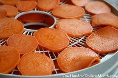 How to Dehydrate Sweet Potatoes