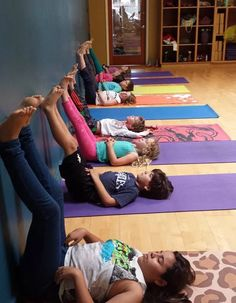 Yoga for kids helps improve focus, attention, awareness, self confidence, compassion, motor skills and more! Culver City Kids yoga during the Farmer's Market!