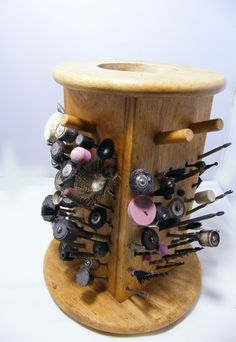 Cheap and Easy Drill Bit Storage