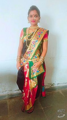 For ready made Nauvari Saree call on 9920538487.