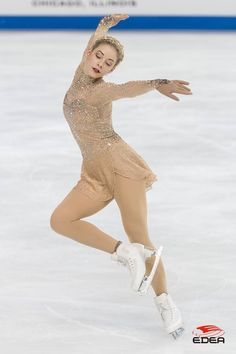 Gracie Gold FS 2016 Figure Skating Quotes, Figure Skating Costumes, Figure Skating Dresses, Beautiful Figure, Beautiful People, Gracie Gold, Anna Dress, Ice Skaters, Ice Dance