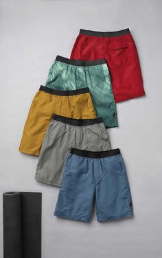 Like the Mojo Shorts? How about one in every color? Re-Pin to win! #repin #prana   Seriously great yoga shorts!!