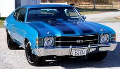 American Muscle Cars…   1970 Chevy Chevelle SS