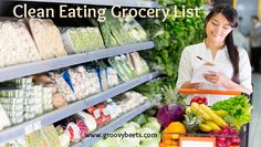 Clean Eating Grocery List #CleanEating