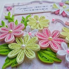 Quilling Designs, Paper Quilling, Card Making, Crafts, Handmade, Ideas, Picture Wall, Flowers, Crafting
