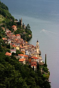 Brienno, Lake Como, Italy.  Go to www.YourTravelVideos.com or just click on photo for home videos and much more on sites like this.