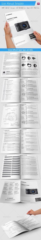 User Manual Template  #GraphicRiver