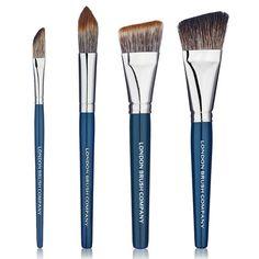 Makeup Brush Set: Complete Contour - 4 Piece