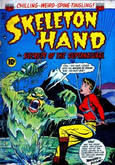 Comic Book Cover For Skeleton Hand in Secrets of the Supernatural #3