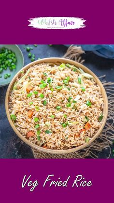 Veg Fried Rice Recipe Indian, Indian Veg Recipes, Chaat Recipe, Biryani Recipe, Leftover Rice, Spicy Dishes, Vegetarian Snacks, Cooking Recipes, Cooked Rice Recipes