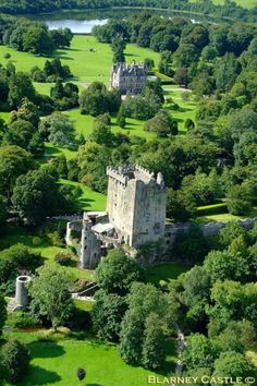 Blarney Castle and house.