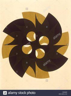Download this stock image: Formas Justapostas Autor: Odetto Guersoni Ano:1971 Técnica: Serigrafia Dimensão:78cm x 63cm…