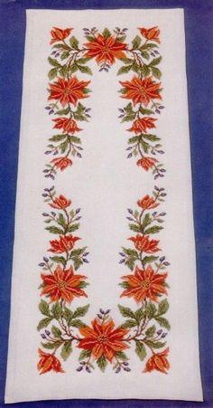 Geri Dönüşüm Projeleri Cross Stitching, Cross Stitch Embroidery, Cross Stitch Patterns, Christmas Cross, Xmas, Wall Banner, Bargello, Cross Stitch Flowers, Baby Knitting Patterns