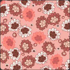 Pat Bravo - Botanica - Blooms in Coral