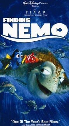 Finding Nemo...I find something new and hilarious every time I watch it!