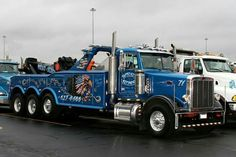 West & Sons Towing, Addison IL - Peterbilt 378 w/ Jerr-Dan 50 ton unit Big Rig Trucks, Dump Trucks, Tow Truck, Cool Trucks, Pickup Trucks, Cool Cars, Peterbilt 379, Peterbilt Trucks, Car Hauler Trailer