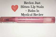 The Beauty Branch | Revlon Just Bitten lip Stain + balm in Mystical Review