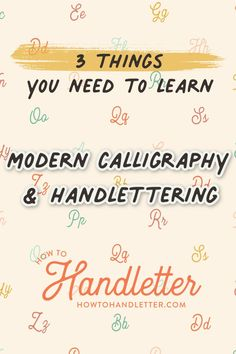 After handlettering for years, I've realized there are a few things that are pretty key for learning how to handletter! Join Suzy Grace of How to Handletter for more tips and tutorials on learning handlettering! #printables #handletteringtips #lettering #calligraphy #brushlettering #moderncalligraphy Printable Letters, Printable Worksheets, Printables, Lettering Styles, Brush Lettering, Tombow Brush Pen, Calligraphy For Beginners, Handwritten Letters, Lettering Tutorial