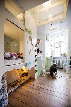 Indbygget senge og sofaer m.m.