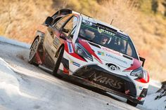 Toyota's Monte Carlo Rally performance shows the new Yaris can win during its debut WRC season, reckons team principal Tommi Makinen. Sport Cars, Race Cars, Rallye Wrc, Toyota, Off Road Racing, Motor Car, Motor Sport, Rally Car, Monte Carlo