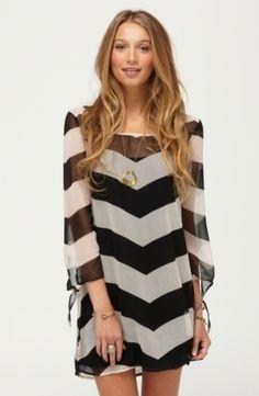<3   Chevron Dress