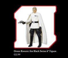ToyzMag.com » Figurines Star Wars : Director Krennic et SCARIF Trooper