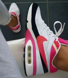 nike air max command damen schwarz pink