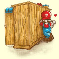 Camiseta 'Que Mario?'. http://cami.st/p/1729