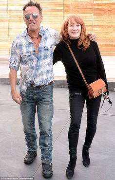 Bruce Springsteen looks so in love as he goes on shopping spree with wife Patti in West Hollywood | Daily Mail Online