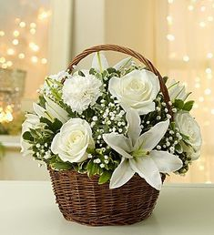 All White Basket All White, Outdoor Gardens, Basket, Table Decorations, Amazon, Furniture, Home Decor, Dress Designs, Amazons