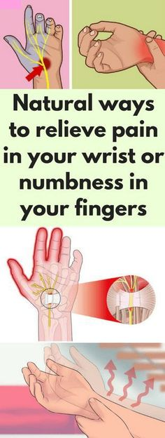 Natural ways to relieve pain in your wrist or numbness in your fingers #numbness #muscles #pain #method #excersize