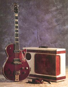 50's Gretsch 6130 Roundup Guitar and Gretsch 6169 Electromatic Amp.