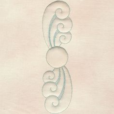 Waves Centerpiece #12396-19 Quilting Stencils, Quilting Templates, Longarm Quilting, Free Motion Quilting, Hand Quilting, Diy Embroidery, Embroidery Patterns, Machine Embroidery, Machine Quilting Patterns