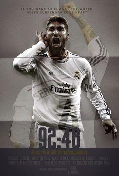 Sergio Ramos - Poster experimental basado en el del Documental 11:59
