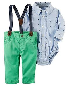 Dynamic Nwt Baby Boys Carter's 2 Pack One Piece Shorts Red/blue Dog Outfits Boys' Clothing (newborn-5t) 24m