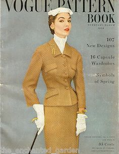 Lot of Five 5 Vintage Vogue Pattern Books : 1934 1954 1956 1956 1961
