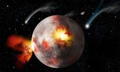 Researchers question Apollo-era evidence for the Late Heavy Bombardment Late Heavy Bombardment, Asteroid Belt, Science, Apollo, Moon, The Moon, Apollo Program