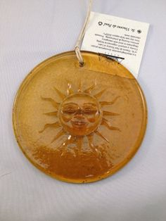 Sun Suncatcher 100% Recycled Glass - Made in USA Aurora Glass - Made in USA http://www.amazon.com/dp/B00JPE6ESE/ref=cm_sw_r_pi_dp_EDpJub1KB1742
