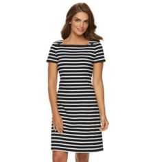 Get a cute and casual everyday look with this women's casual dress from  Chaps.